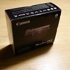 "[Neu] CANON G9X Mark II 2 Ä 28-84mm 1:2.0-4.9 1"" Sensor OVP Schwarz G9 X MK2"