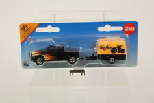 Siku SK1643 Diecast Pickup with Trailer.