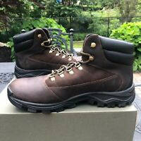 Timberland Rangeley Mid Brown Leather Hiking Boots Men's Size 12  NIB