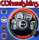 Perforated 1 or 2 Color Custom Leather Steering Wheel Cover Eurotone Wheelskins