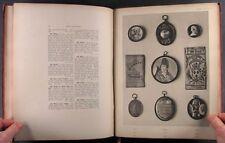 Book: 1883 Mayer Collection Catalog: Portrait Miniatures, Medieval Carvings &++