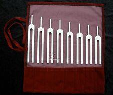 BioSonics USA - Tuning Fork harmonic Spectrum Diapason Stimmgabel Set