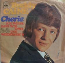 """7"""" 1970 KULT ! BUDDY CAINE : Cherie / akust. VG+"""