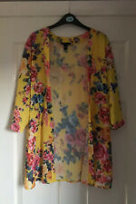 Ladies Floral Waterfall Boyfriend Cardigan - Size 10 - From New Look (2)