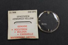 Accutron Space View Crystal 340-1AYS New Old Stock 33.7mm