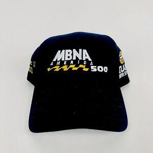 MBNA America 500 Strapback Hat 2002 NASCAR Hat Cap