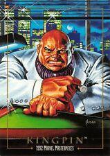 KINGPIN / 1992 Marvel Masterpieces BASE Trading Card #43 Art by JOE JUSKO