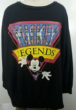 vintage Mickey Mouse  crew neck sweater 2XL Mickey Legends 1151