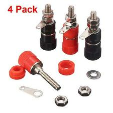 4 Pack 4mm Speaker Terminal Socket Binding Post Nut Banana Plug Jack Connector