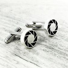 Portal Aperture Science Cuff Links, aperture laboratories game silver cufflinks