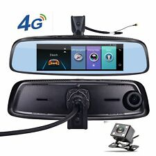"7.84"" 4G Special bracket Car Camera Mirror Android GPS DVR 2 cameras WIFI"