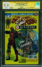 Deadpool 287 CGC 2XSS 9.9 Stan Lee Romita Spider Man 129 Homage Variant up 9.8