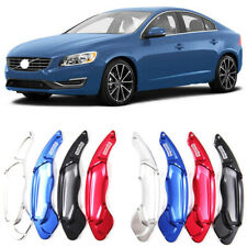 Alloy Steering Wheel DSG Paddle Extension Shifters Cover Fit For Volvo S60 14-17