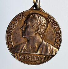Medaglia II°congresso naz. di studi romani 1930 dedicati a Virgilio (argento)