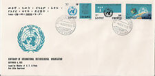 Ethiopia: 1973 Centenary of International Meteorological Organisation FDC