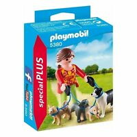 Playmobil 5380 Special PLUS Dog Walker With 4 Dogs Child / Kids Playset