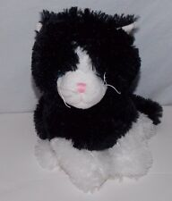"Best Made Toys Black White Cat Plush Stuffed Animal 10"""