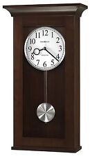 NEW HOWARD MILLER WALL CLOCK -THE BRAXTON   FINISHED IN BLACK COFFEE 625-628