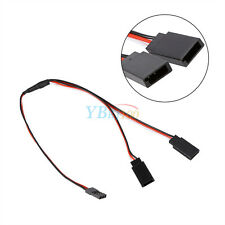 300mm Servo Y Extension Cord Splitter Wire Cable for JR Futab RC Helicopter Car