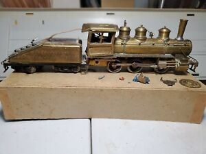 Vintage Brass Locomotive Steamer 0-6-0 Switcher Tenshodo of Japan South Pacific