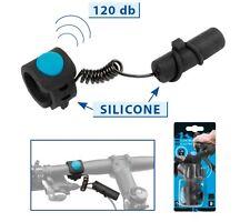 M Wave Elektrische Klingel 120db Fahrradklingel Fahrrad Glocke inkl Batterie Neu