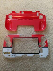 Nintendo Wii U Pokemon POKEBALL GAMEPAD PROTECTOR SHELL COVER PLASTIC CASE Hori