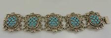 wunderschöne Damen  Armkette mit Türkis / ca. 18 cm