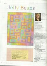 I0021  JELLY BEANS QUILT PATTERN/INSTRUCTIONS