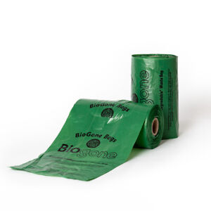 Dog Poo Bags 100% LANDFILL Biodegradable BioGone | Roll of 250 or 500 Waste Bag
