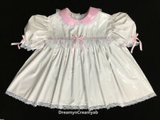 Adult Sissy Innocent Baby Pvc Dress L