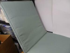 """Smith & Hawken Outdoor Chaise Aqua Cushion Double Piped 24"""" X 31"""" X 45"""""""