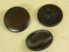 NEW 25 3/4 INCH SHANK BUTTONS BLACK  PEARL FINISH