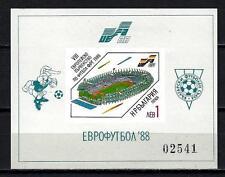 Bulgarie 1988 Football Yvert bloc n° 153 non dentelé neuf ** 1er choix