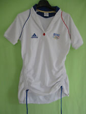 Maillot Equipe de France Femme Jeux Olympique Adidas Vintage Jersey athlete - 40