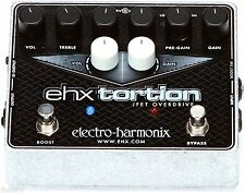 Electro-Harmonix EHXtortion Guitar Effects Pedal Free Expedited Shipping! JFET