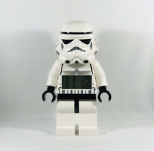 LEGO Star Wars Stormtrooper Minifigure Alarm Clock with Light