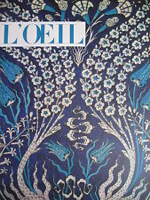 REVUE ART L'OEIL N° 119 de 1964 PREMIERE ICONE VIERGE CHARLES HENRI MILLET TAKIS
