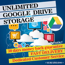 Google Unlimited Storage for Lifetime | 1 Account DEAL