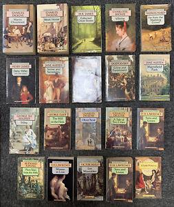 Job Lot: Wordsworth Classics - Paperback Book Bundle - 20 x paperback classics