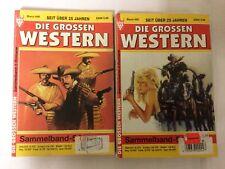 """Die Großen Western Sammelband 499 & 500 Kelter """"Wildwest-Roman"""" Geschenk"""