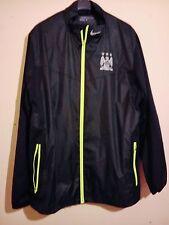 Manchester City Football Club Nike Golf Chaqueta Talla L Excelente Estado MCFC Blues