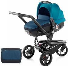 Brand new in box Jane trider matrix travel system in teal with bag & raincover