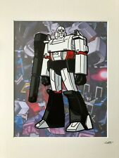 Transformers - Decepticons - Megatron - Hand Drawn & Hand Painted Cel