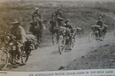 Wwi Motorcycle Corps Australia1918 Suffrage Pass