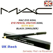 MAC EYE KOHL - EYE PENCIL CRAYON KOHL WITH BOX - BLACK (SMOLDER) UK Stock/seller