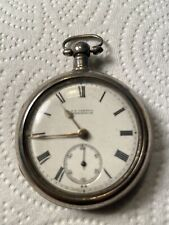 Antique English Fusee Pocket Watch Double Cased Needs Repair