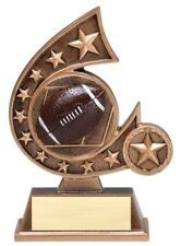 Football Comet Resin Award Trophy - Engraved Free - Speedy Shipping