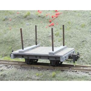 O-9 Bolster Wagon Body Kit O-9 gauge Unit Models O-076