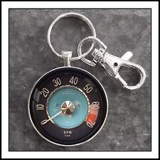 Vintage Volvo P1800 Series Tachometer Photo Keychain Tach