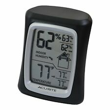 AcuRite 00325 Home Comfort Monitor, Black , New, Free Shipping